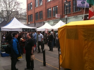 Lunchtime at Exmouth Market